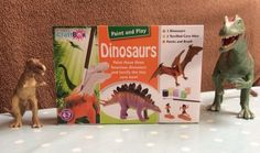 Paint and Play Dinosaurs Review from interplay   Hodge Podge Days #ToyTuesday