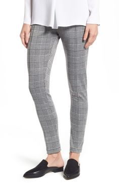 Plaid Seam Front Leggings TWO BY VINCE CAMUTO
