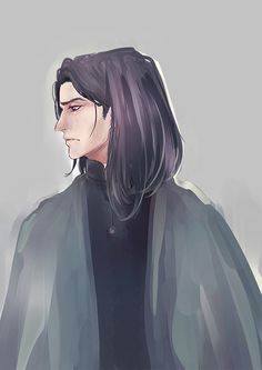 Snape by melina-m (looks more like Sirius, actually - no hooked nose or greasy hair)