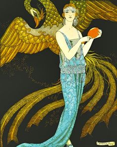 Sortileges by Georges Barbier, (1922)