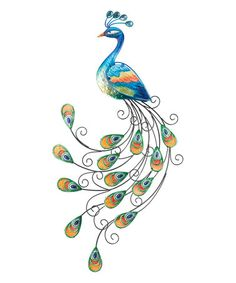Another great find on #zulily! Peacock Wall Art #zulilyfinds