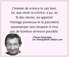 Citation de Pierre Desproges – Proverbes Populaires