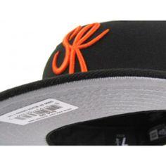 SF Script New Era Hats (SAN FRANCISCO GIANTS COLORS GRAY UNDER BRIM) 0525cf243826