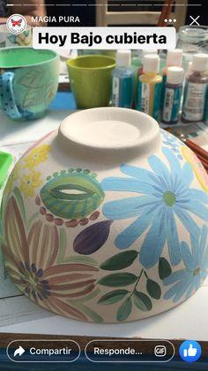 Ceramic Clay, Ceramic Painting, Ceramic Bowls, Ceramic Pottery, Pottery Art, Pottery Painting Designs, Paint Designs, Kintsugi, Crackpot Café