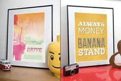Visual Etiquette TV and Movie Prints