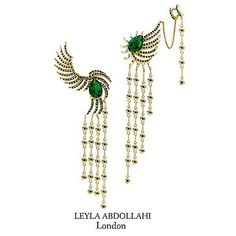 #earrings #finejewellery #leylaabdollahilondon @leylaabdollahilondon