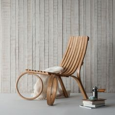 "Oooooh! ""Loop Chair"" Steambent furniture by Tom Raffield 