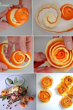 ♥ Gotta try this for homemade potpourri Fall Crafts, Holiday Crafts, Home Crafts, Diy And Crafts, Fruits Decoration, Flower Decoration, Orange Rosen, Christmas Time, Xmas