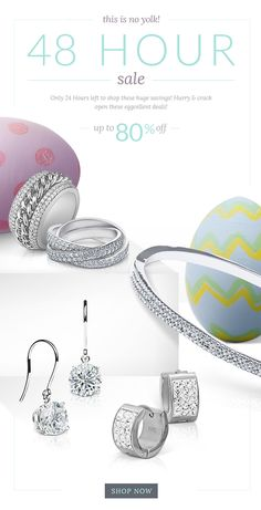 E-mail Design   #email #fashion #graphicdesign #marketing #advertising #spring #jewelry #springemail #springfashion #marketing #emailmarketing #inspiration #gooddesign #e-mail design #emaildesign #easter