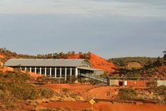 Lark Quarry Dinosaur Trackways building