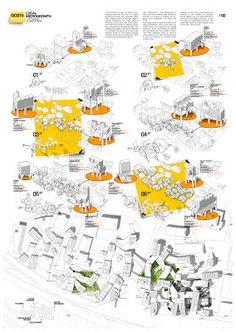 in Dubrovnik , Hrvatska by Gonzalo del Val + Gonzalo Gutierrez Architecture Panel, Landscape Architecture Design, Architecture Graphics, Architecture Visualization, Architecture Drawings, Concept Architecture, Project Presentation, Presentation Layout, Planer Layout