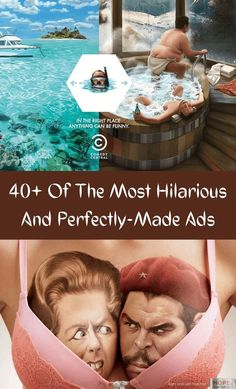 Ads; we see them everywhere and, for the most part, we hate them. They're generally things that get in the way of our TV or YouTube time, and in some ways, it feels like the world would be better off without them. #40+ #Hilarious #Ads