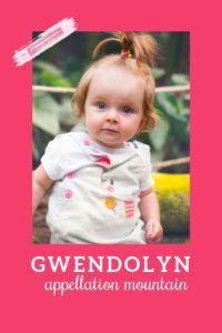 Gwendolyn could substitute for Evelyn or Matilda, Winifred or Katherine. It's a perfect stands-out, fits-in name, a little bit offbeat but still plenty familiar. #girlnames #babynames #namingbaby #appellationmountain Welsh Names, Silent Film Stars, Baby Girl Names, Baby Care, In The Heights, Fun Facts, Retro Baby, Matilda, Kids