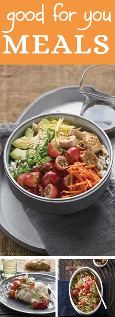 Heart-healthy grapes add fresh appeal, vibrant color and a light touch of sweetness to these recipes for Vegetarian Poke Bowl, Roasted Cod with Fennel and Grapes, and Spaghetti Squash with Pesto and Grapes. #grapes #healthyeating