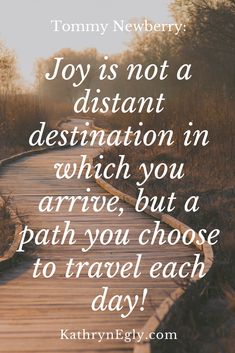 Joy is not a distant destination, it's a journey you travel Feeling Happy Quotes, Happy Wife Quotes, Joy Quotes, Smile Quotes, Wisdom Quotes, Quotes To Live By, Best Friend Quotes Meaningful, Meaningful Sayings, Happy Quotes Inspirational