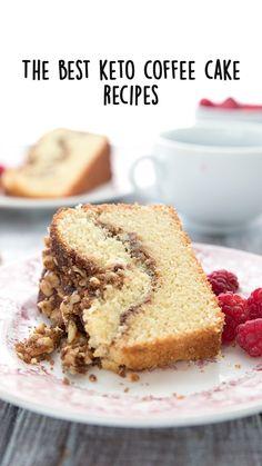 Ketogenic Desserts, Low Carb Desserts, Keto Snacks, Low Carb Recipes, Rhubarb Coffee Cakes, Cake Recipes, Dessert Recipes, Keto Cake, Low Carb Breakfast
