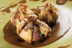 Helados fritos con crema de café   Sabores en Linea