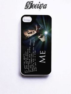 Tardis Doctor Who Quote Phone Case For iPhone Samsung iPod Sony – Feeiva