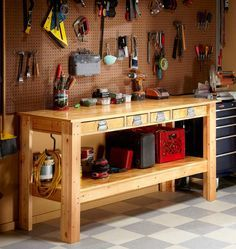 Simple Workbench Plans