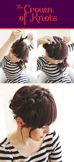 The Crown of Knots | 26 DIY Hairstyles Fit For A Princess