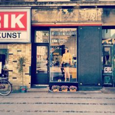 Vintage shopping in the Vesterbro district