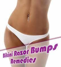 Bump area razor bikini