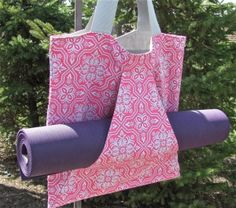 yoga bag by Outer Peace Designs. From www.fair52.com