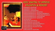 Vedic Mantra to Improve Education and Memory - Dr. Increase Memory, Bhakti Song, Vedic Mantras, Music Heals, Powerful Words, Affirmations, Spirituality, Healing, Mindfulness