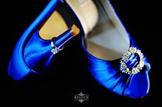 Blue Bridal Shoes ~  Toronto Wedding Photographer www.bassem.ca