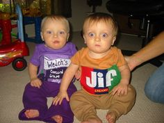 Sent in by Janel D. from Owasso, OK. Send us photos of your funny Halloween costumes!