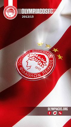 OLYMPIAKOS Red And White Stripes, Home And Away, Football Team, Athlete, Passion, Sport, How To Wear, Savage, Beautiful