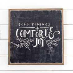 """Good Tidings"" Sign - Magnolia Market   Chip & Joanna Gaines"