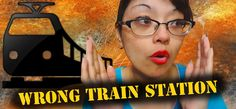 Wrong Train Station!! I Storytime