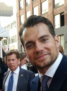 """@crisp76: Got to meet my crush! #HenryCavill #ManFromUNCLE #Toronto """