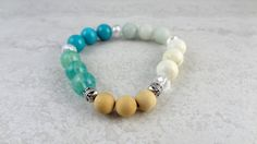 Get Infused with a Wellness Beads Raw Wood Infusible Diffuser Bracelet Essential Oil Diffuser, Essential Oils, Aqua Glass, Raw Wood, Beaded Bracelets, Wellness, Shapes, Beads, Gifts