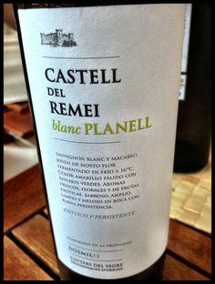 El Alma del Vino.: Castell del Remei Blanc Planell 2012.