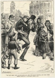 pictures from Christmas carol | Christmas Carol Illustrations We Like | The Illustrators Journal