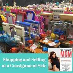 Expert organizer and consignment sale owner, Jennifer Ford Berry, shares tips and tricks for selling at and selling with a local consignment sale.