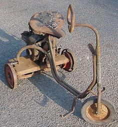 3 1/2 hp goodall Rotary Lawn Mower, Lawn Mower Tractor, Walk Behind Tractor, Old Sewing Machines, Antique Tractors, Small Engine, Pedal Cars, Mini Bike, Scooters