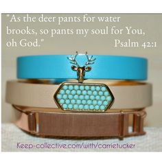 I love this verse and the KEEPer to represent it! Message me to create your unique piece of jewelry! Facebook.com/cmtucker12 • keep-collective.com/with/carrietucker #armcandy #jewelry #deer #psalm42:1 #turquoise #bracelet #leather #bangle #2in1 #reversibleleather