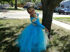 Brave's Merida Tutu Dress.  via Etsy.