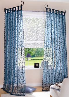 The best way to Select Curtains to Adorn a Room - Homebezt Home Curtains, Interior, Diy Curtains, Home Furniture, Home Decor, House Interior, Home Deco, Indoor Decor, Curtain Decor