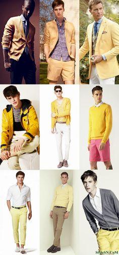 Men+cool+trends+spring+2014 | Men's Spring/Summer 2014 Colour Trend -StyleSN