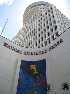 Waikiki, Honolulu, Oahu, Hawaii: Waikiki Business Plaza - Revolving Restaurant