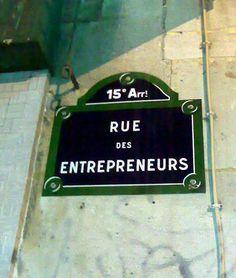 La rue des Entrepreneurs (Paris 15ème)