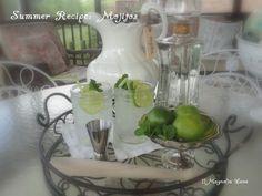 Easy summer entertaining recipe from 11 Magnolia Lane--Mojitos!