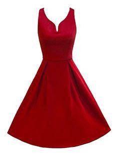 LUOUSE 50er Retro Audrey Hepburn Schwingen Pinup Rockabilly Kleid, http://www.amazon.de/dp/B019W9YNIO/ref=cm_sw_r_pi_awdl_xs_36Cmyb592GCFM