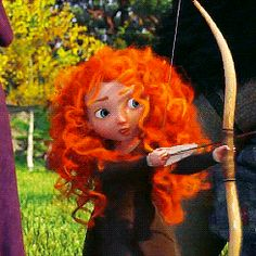 I kinda want to learn archery because of her!