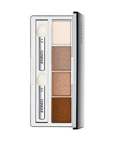 This palette is bomb for hazel eyes. Clinique All About Shadow, Quad Palette Clinique Makeup Remover, Clinique Eyeshadow, Clinique Cosmetics, Java, Quad, Pink Chocolate, Sensitive Eyes, Smoke And Mirrors, Perfume