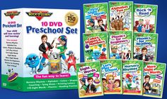 Rock 'N Learn 10-DVD Preschool Pack     Rock 'N Learn Educational DVDs Rock 'N Learn's educational programming, presented here via DVD, pairs basic reading and phonics lessons with the kind of toe-tapping tuneage that appeals to kids aged 2 and … Continue reading »